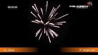 Фестивальные шары Artillery shells VS-0046 Maxsem/Максэм