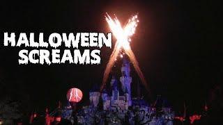 [2019] Halloween Screams Fireworks - Disneyland
