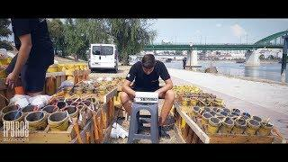 Setup Video | Intense Pyromusical by Pyro-Team Fireworks Serbia in Belgrade, Serbia.