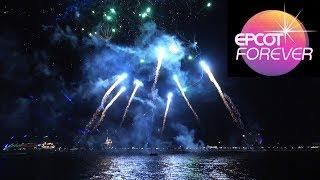 """Epcot Forever"" Full Fireworks Show on Opening Night with Kites, Classic Epcot Music - Disney World"