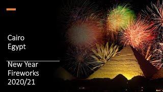 Cairo - New Year Fireworks - 2020/2021 - Egypt