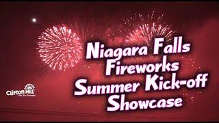 Epic Niagara Falls Fireworks Summer Kick-off Showcase