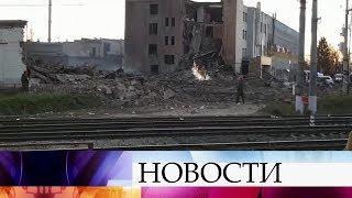 В результате взрыва на заводе пиротехники в Ленинградской области погибли два человека.