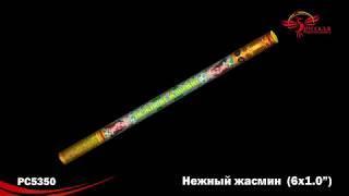 """Римские свечи РС5350 Нежный жасмин (1,0"""" х 6)"""