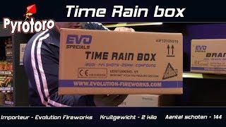 Time Rain box - Evolution Fireworks (Nieuw 2018)