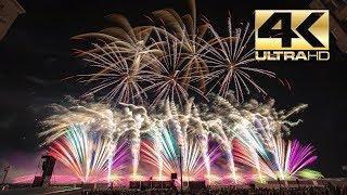 ⁽⁴ᴷ⁾ Int. Fireworks Festival Knokke-Heist 2019: HC Pyrotechnics  - België  Belgium - Vuurwerk