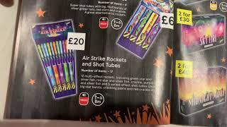 TESCO fireworks Leaflet 2020