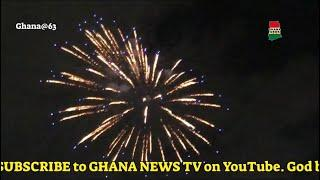 Best Fireworks Ever: Ghana Independence eve fireworks attracts thousands