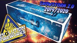EVOLUTION FIREWORKS - SNOWSTORM 2.0 NIEUW 2019/2020