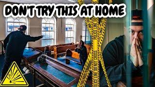 DON'T TRY THIS AT HOME | ABANDONED COURT AND DANGEROUS FIREWORKS