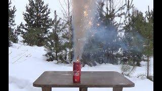 Кока-Кола спички + бенгальские огни