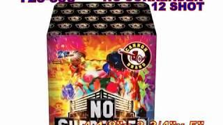 No Surrender 12 Shots Cannon Fireworks (Coming in 2019) | Red Apple Fireworks