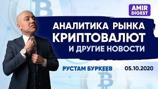 Аналитика рынка криптовалют | Новости 05.10.2020