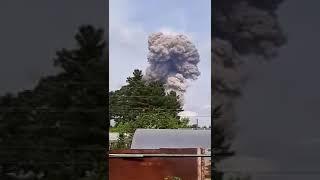 Взрывы на заводе взрывчатки: Офигеть, охренеть! Все теплицы нахрен выбило.