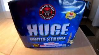 Huge White Strobe By Raccoon Fireworks