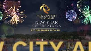 New Year Celebrations, Fireworks & Lights Display at Park View City Islamabad
