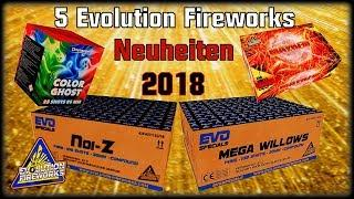 5 Evolution Fireworks Neuheiten 2018 | NOIZ | Mega Willows | MSD Firework