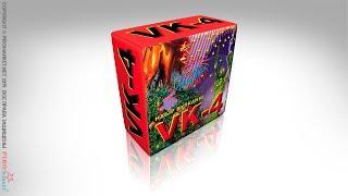 VK-4 - Искристый - пиротехнический вулкан