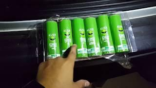 NEW Six Alien 5 inch invasion shells 2019 Alien fireworks demo 2019