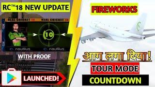 RC™18 New Update Launched | Tour Mode, Fireworks, Player Countdown etc. Brand New Features |