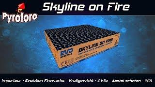Skyline on fire - Evolution Fireworks (Nieuw 2018)