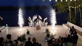 Холодные фонтаны на свадьбу в СПб