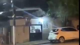 Португалец обстрелял фейерверками с дрона своих соседей.