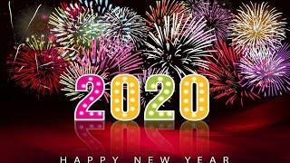 С Новым 2020 Годом! Подарки. Хлопушки. Фейерверк. Гирлянды