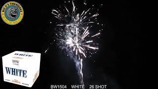 "White! 500 Gram Cake by ""Boom Wow Fireworks"""