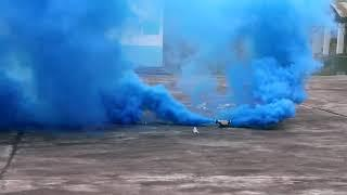 Синий цветной дым MEGA SMOKING MA0514/B MAXSEM