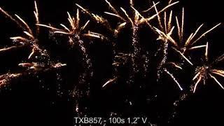 """Fajerwerki TXB857 V 100s 1 2"""" Triplex"""