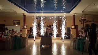 Холодные фонтаны (пиротехника) | Шоу-студия ЭРИАЛ