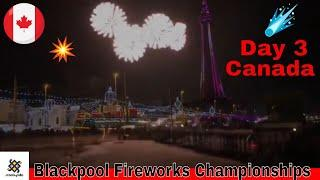 Blackpool 2018 World Famous Fireworks Championships Day 3 Canada