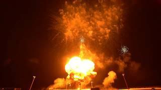 Big Sky Fireworks Show Western Winter Blast 2/14/2020 Pyrotechnics Display Minions Girandola Intro