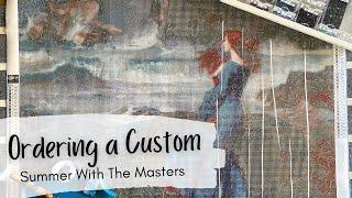 Ordering a Diamond Painting Custom: What You Need to Know || Summer With The Masters