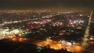 Crazy San Antonio fireworks! Drone video shows New Year's Eve celebrations