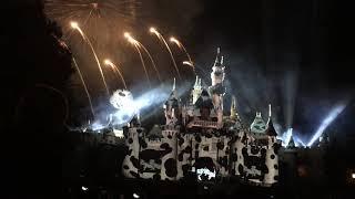 Fireworks in Disneyland Halloween