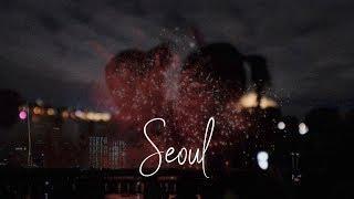 Romantic seoul fireworks festival