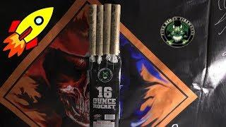 16 OUNCE ROCKET - PYRO DEMON FIREWORKS - NEW FOR 2019