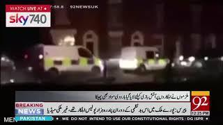 Fireworks thrown at police and firefighters on Halloween - 2 Nov 2018 - 92NewsHDUK