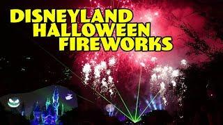 Mickey's Halloween Party Fireworks Show Disneyland California