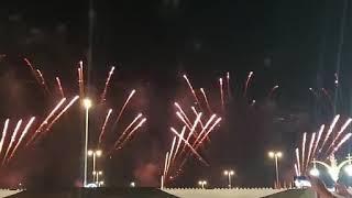 UAE 2020 49TH NATIONAL DAY FIREWORKS.AL WATHBA