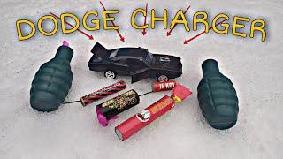 ПЕТАРДЫ VS DODGE CHARGER
