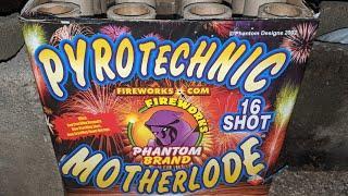 1️⃣6️⃣shot 500gram: PYROTECHNIC MOTHERLODE (Phantom