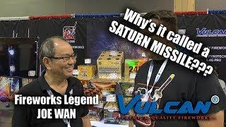 Why's it called a Saturn Missile Battery? Vulcan/Shogun Fireworks Factory Legend Joe Wan NFA 2019