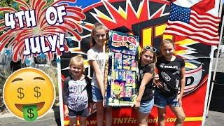 4th Of July FIREWORKS Shopping!
