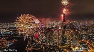 CHÚC MỪNG NĂM MỚI - Fireworks Landmark 81 Vietnam Happy New Year!