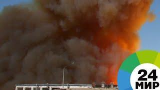 На заводе «Авангард» под Петербургом взорвалась пиротехника - МИР 24