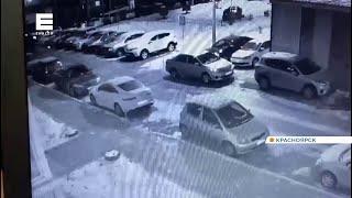 Жители Покровки сняли на видео, как подростки бросали петарды в машины