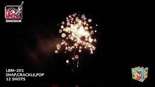 Snap Cracker Pop Shogun Fireworks (Coming in 2019) | Red Apple Fireworks